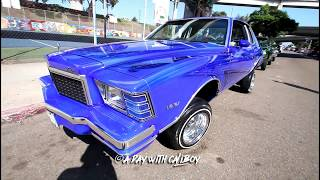 Chicano park, Barrio Logan lowrider show in SD (raw footage) thumbnail