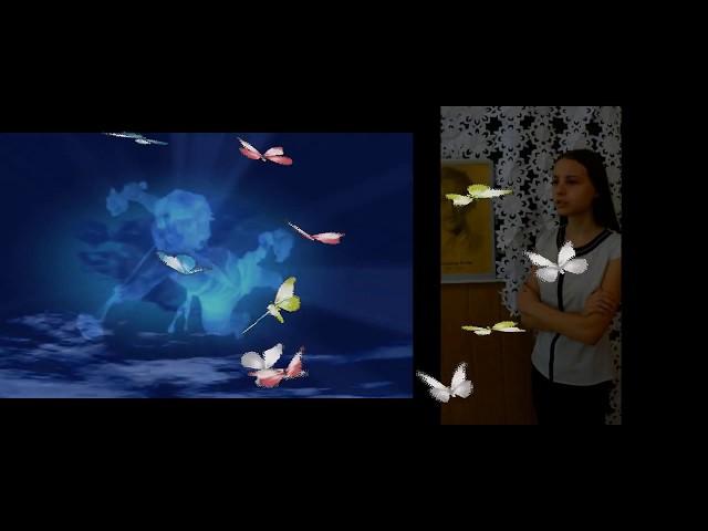 Изображение предпросмотра прочтения – АнастасияОрешина читает произведение «Девушка пела в церковном хоре» А.А.Блока
