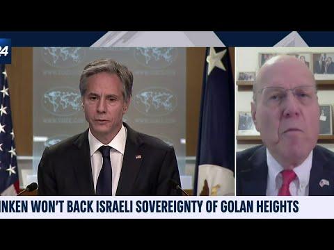 Israel On Golan Heights Is Key US Interest, Amb. Ettinger Says
