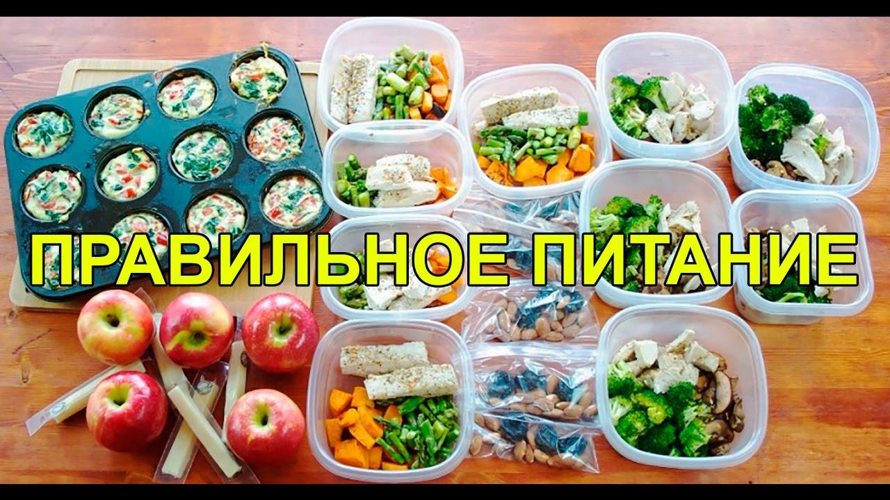 Правильное питание экономное меню