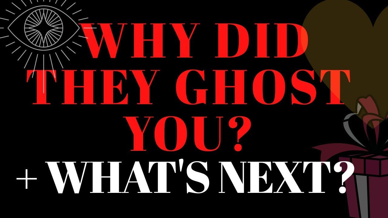 💔WHY DID THEY😔😭 GHOST YOU AND WHAT IS NEXT FOR YOU IN LOVE?💕😱