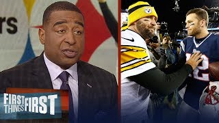 Cris Carter's keys to Week 15 must-win Steelers vs. Patriots game | NFL | FIRST THINGS FIRST