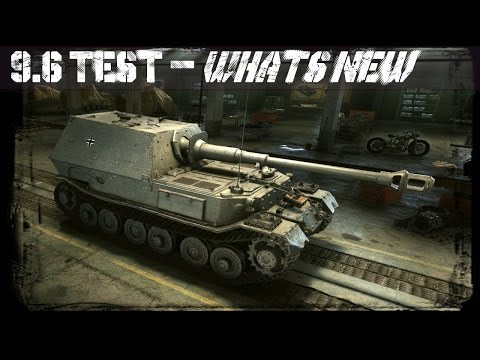 WoT 9.6 Test Server - What's New?