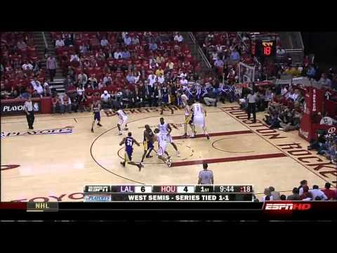 Kobe Bryant Full Series Highlights vs Houston Rockets 2009 NBA Playoffs