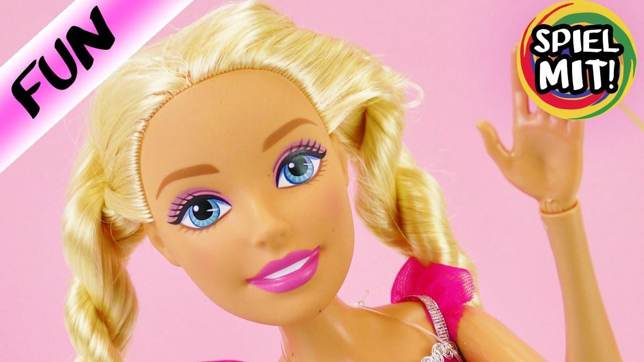 xxl barbie bekommt einen namen wie hei t unsere barbie k nigin spiel mit mir kinderspielzeug. Black Bedroom Furniture Sets. Home Design Ideas