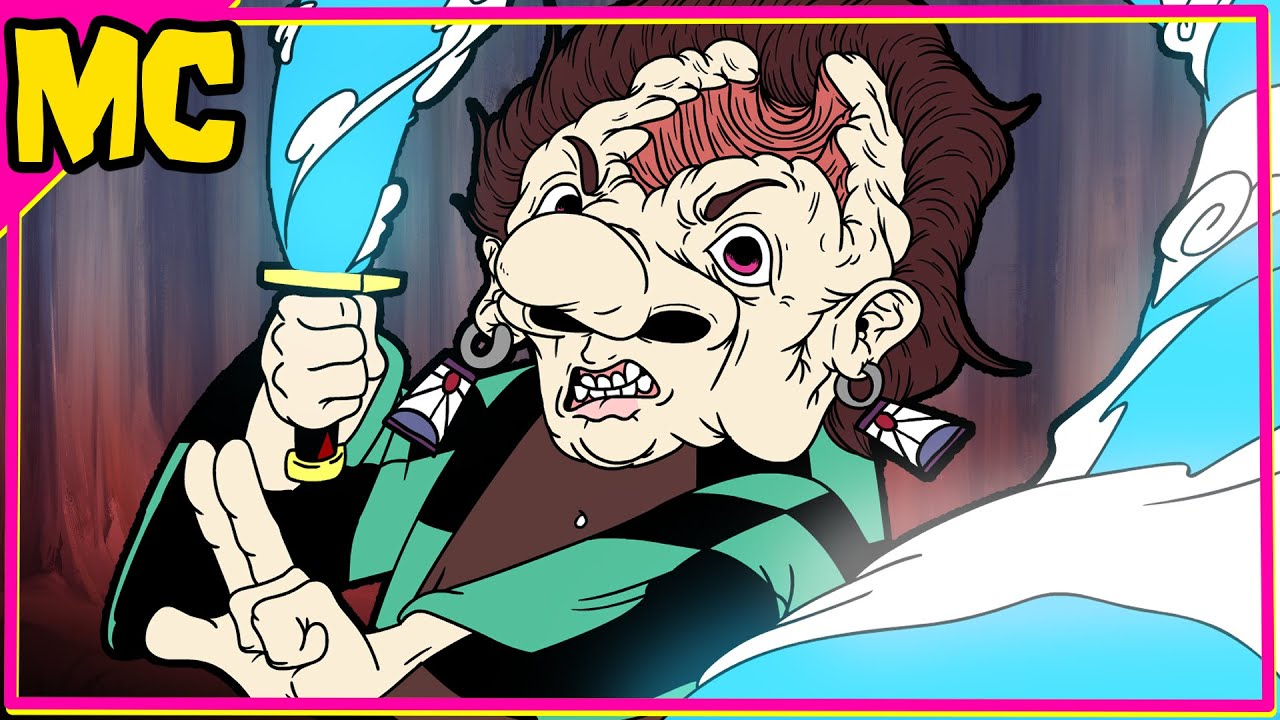 I SMELL A DEMON - ( Demon Slayer Cartoon)