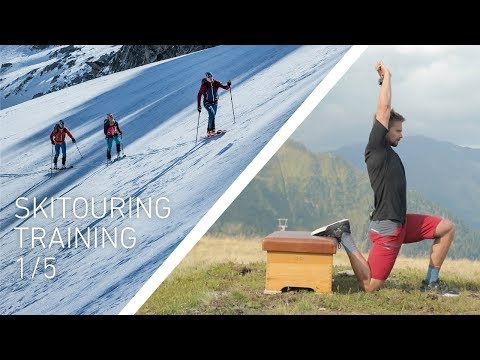 (1/5) Ski touring strength and endurance exercises | 10-week training plan (English)