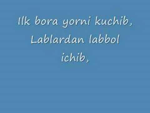 Sherali Joraev Yoshligim (Lyrics)