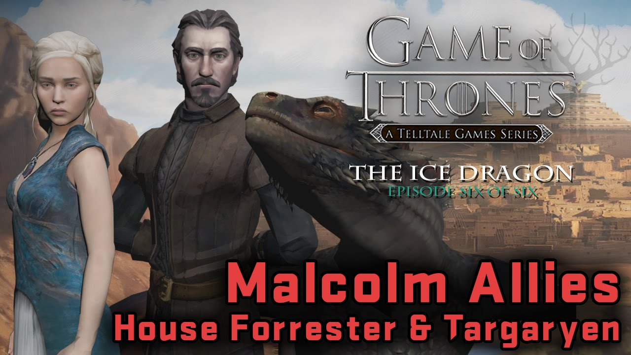 Ice dragon game of thrones telltale