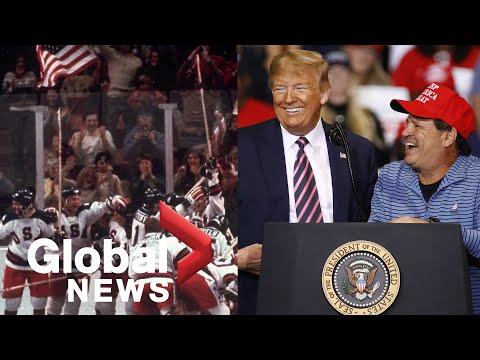 Trump Honours 40th Anniversary Of U.S. 'Miracle On Ice' Men's Hockey Team
