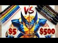$5 vs $500 MARKER ART | Cheap VS Expensive! Which is Better?