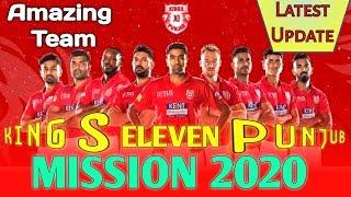 Kings Eleven Punjab Final Squad 2020 | Vivo IPL 2020 player action | KXlP Team players list_T20