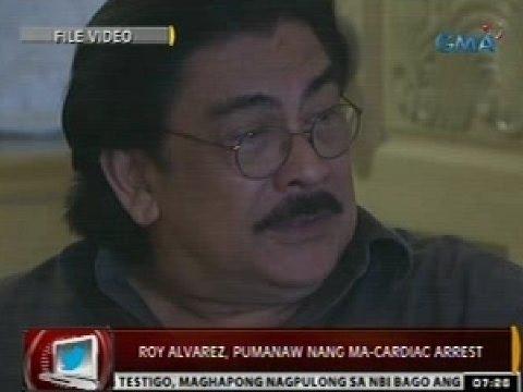 24ORAS: Roy Alvarez, pumanaw nang ma-cardiac arrest sa edad na 63