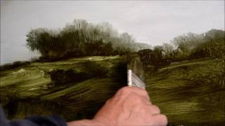 How to paint a landscape in oils - Part 1