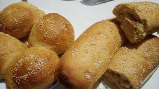 Простой и очень удачный рецепт несладкого теста для выпечки хлеба булочек