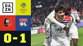Martin Terrier mit dem Last-Minute-Treffer: Rennes - Olympique Lyon 0:1 | Ligue 1 | DAZN Highlights