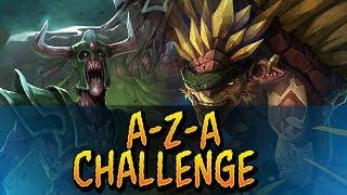 Dota 2 - A-Z-A Challenge Bristleback & Undying