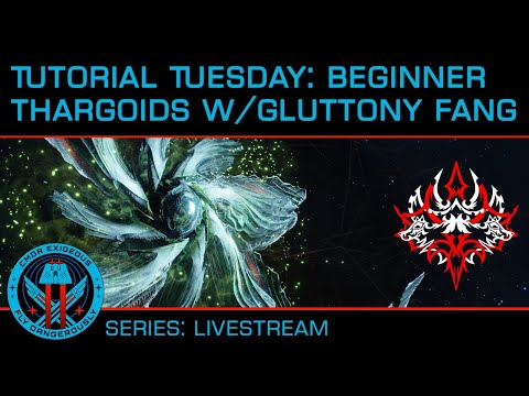 Tutorial Tuesday - Beginner Thargoid Hunting with CMDR Gluttony Fang