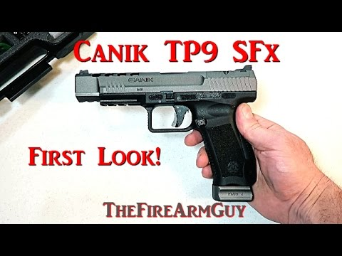 FIREARM REVIEW] Canik TP9 SFx Full Size Competition Pistol