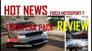 Forza Motorsport 7 - HOT NEWS The Latest Forza Car Pack Has Some Real Highlights