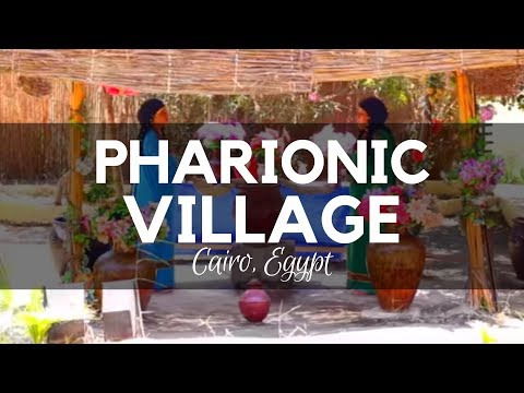 The Pharaonic Village in Giza, the Tour in the Living Museum of Egyptian History in Cairo, Egypt