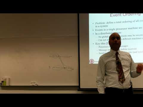 Lec13 Video: Logical and vector clocks, Dist Snapshots (03/19/18)