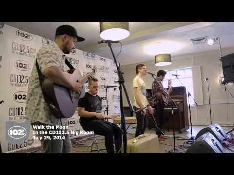 Walk the Moon in the CD102.5 Big Room