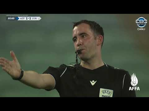 Azerbaijan Luxembourg Goals And Highlights