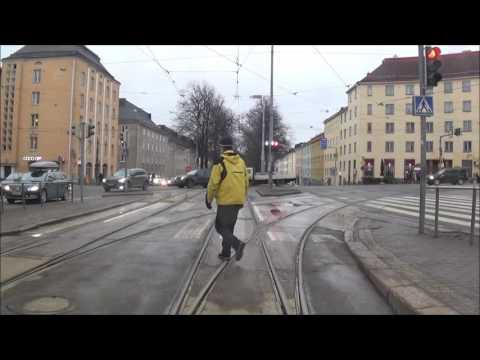 Helsingin Raitiolinja 7A. Helsinki Tramline 7A.