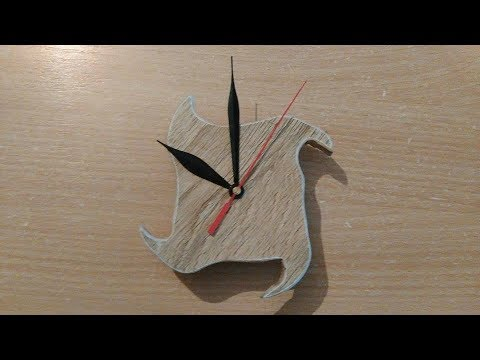 How to make wooden clock