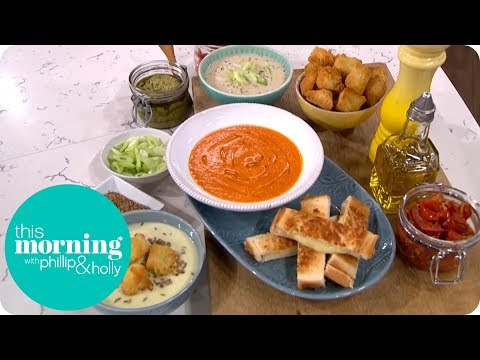 Phil Vickery Makes The UK's Top 3 Favourite Soups | This Morning