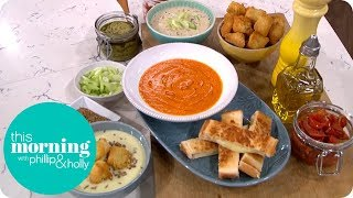 Phil Vickery Makes the UK's Top 3 Favourite Soups   This Morning