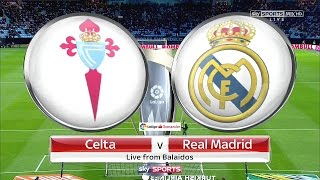 Celta 1-4 Real Madrid | Partido Completo Full Match | COPE | Liga 2017