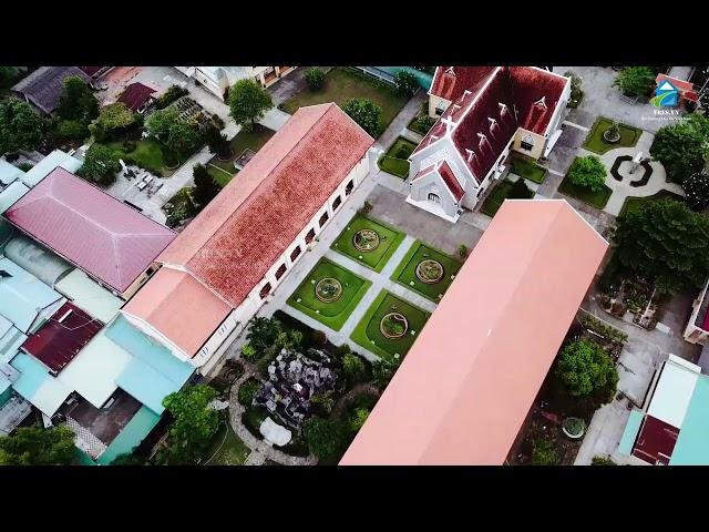 Toàn cảnh khu nhà thờ và dòng tu hon 180 năm tại Thủ Thiêm Sài Gòn|Vres tv