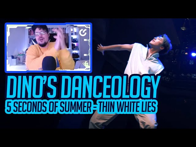 Mikey Reacts to [DINO'S DANCEOLOGY] 5 Seconds of Summer - Thin White Lies