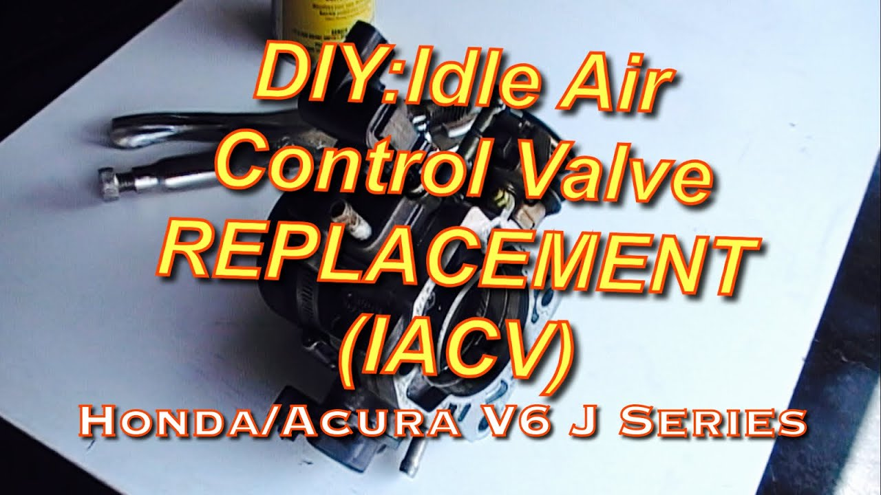 maxresdefault diy honda accord acura v6 j series iacv replacement idle air 97 Honda Prelude Wiring Diagram at bayanpartner.co