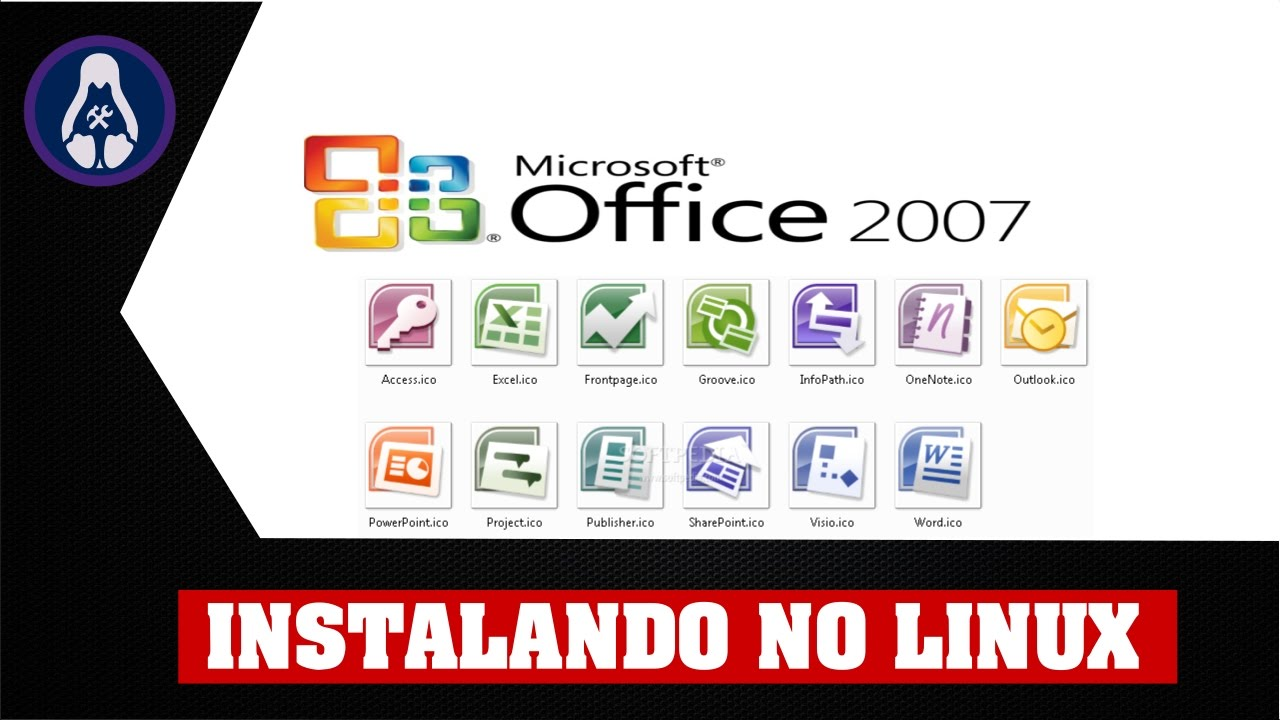 Office 2007 no Linux Via Wine/Playonlinux