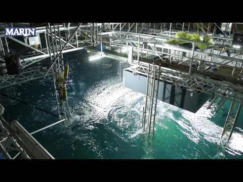 MARIN Breakin Wave impact loading on offshore structures