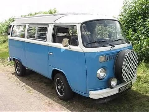 Driving my 1973 VW Type 2 Campervan