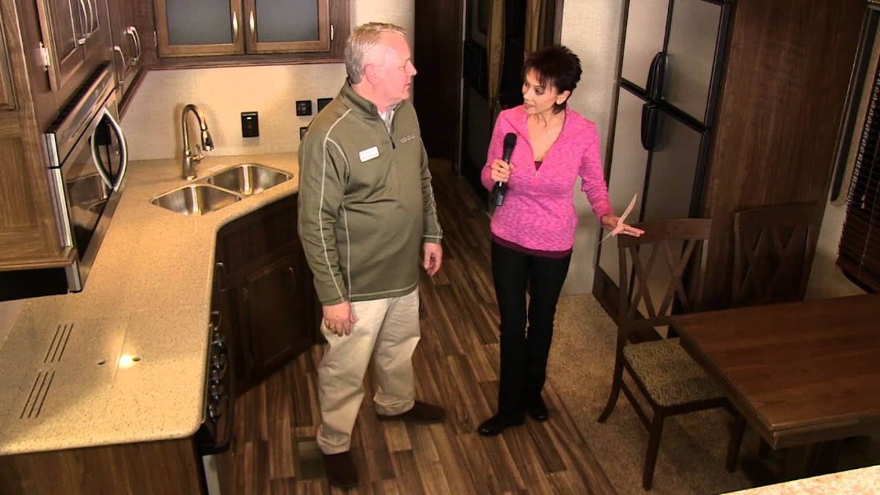 Montana high country front living room fifth wheel youtube - 2016 luxury front living room 5th wheel ...