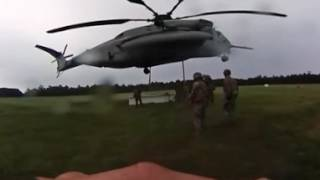 Helicopter Support Training - Shot with 360 camera