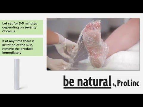 Народное средство от натоптышей на ступнях и сухих мозолей