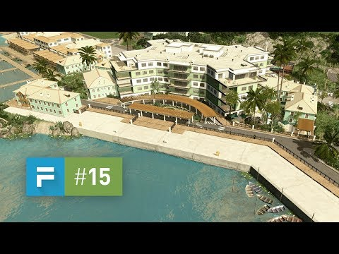 Cities Skylines: Seenu — EP 15 — Island Resort & Spa