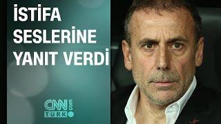 Abdullah Avcı'dan istifa açıklaması | UEFA Avrupa Ligi: Beşiktaş 1-2 Braga