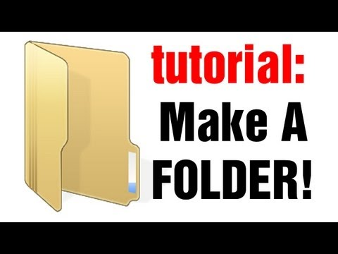 Troll Tutorials: How to make a folder on your PC