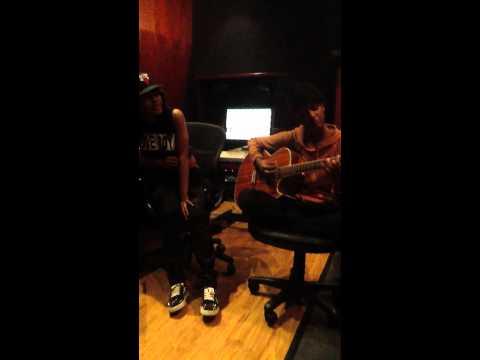 "teyana taylor x tiara thomas x ""her room""(marvins room) raw in studio acoustic version"