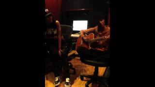 "teyana taylor x tiara thomas x ""her room""(marvins room) raw in studio acoustic version"