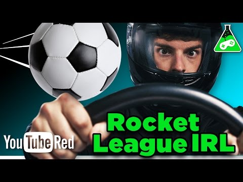 Soccer + Cars = AWESOME (Rocket League) - Game Lab