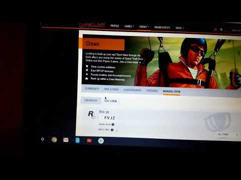 How to get modded crew colors on GTA 5 online 1.42