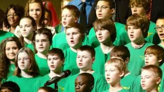 Wood Intermediate And Davenport North Sing Hallelujah